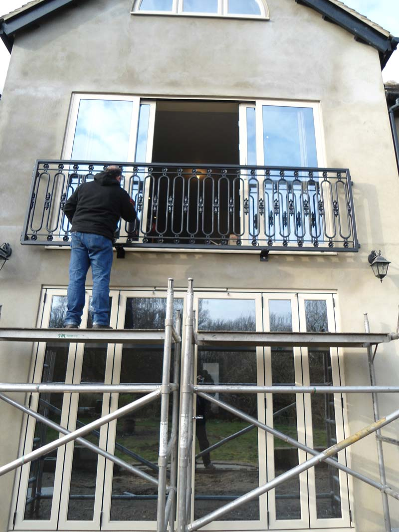 Juliette Balcony Railing Fabrication And Installation In