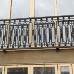 Juliette Balcony Railing Fabrication and Installation in Woking, Surrey