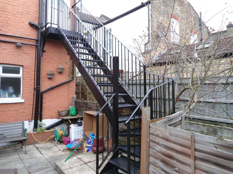 Steel Staircase Brixton