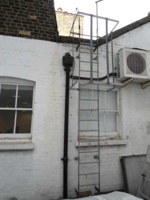 Cat Ladder Fabrication London