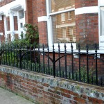 Reproduction Cast Iron Railings in Hampstead & Highgate