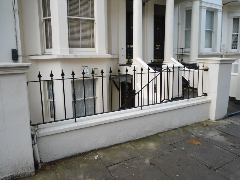 Cast Iron Railings Maida Vale London