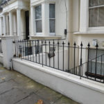Cast Iron & Steel Railings in Warwick Avenue, Maida Vale, London W9