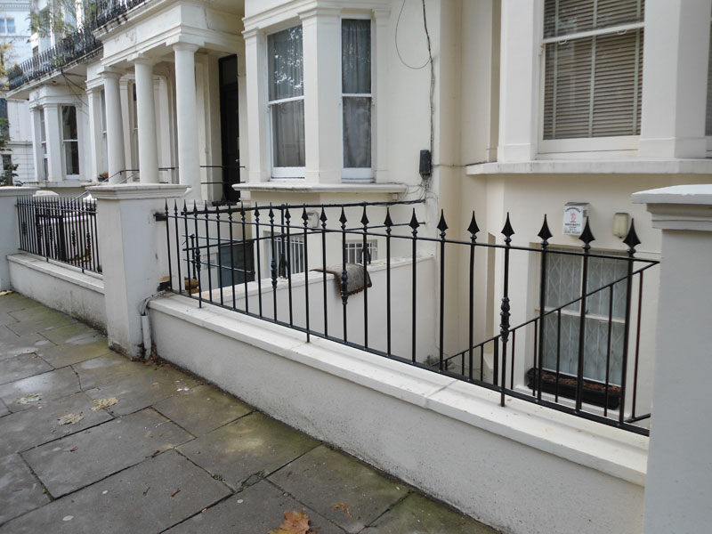 Steel Railings Maida Vale London