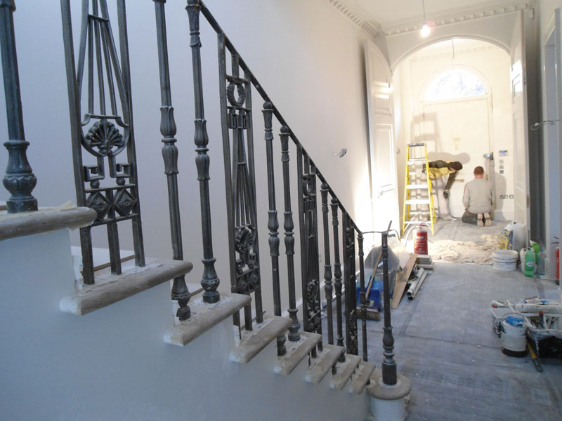 "Balustrade Railings in Regents Park – ""Arc Is A Company That Listens To Your Requests"""