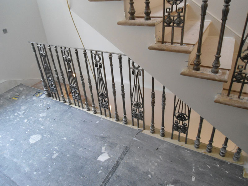 Staircase Railings Balustrades Regents Park London