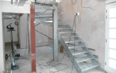 Steel Staircase Fabrication – Ladbroke Grove