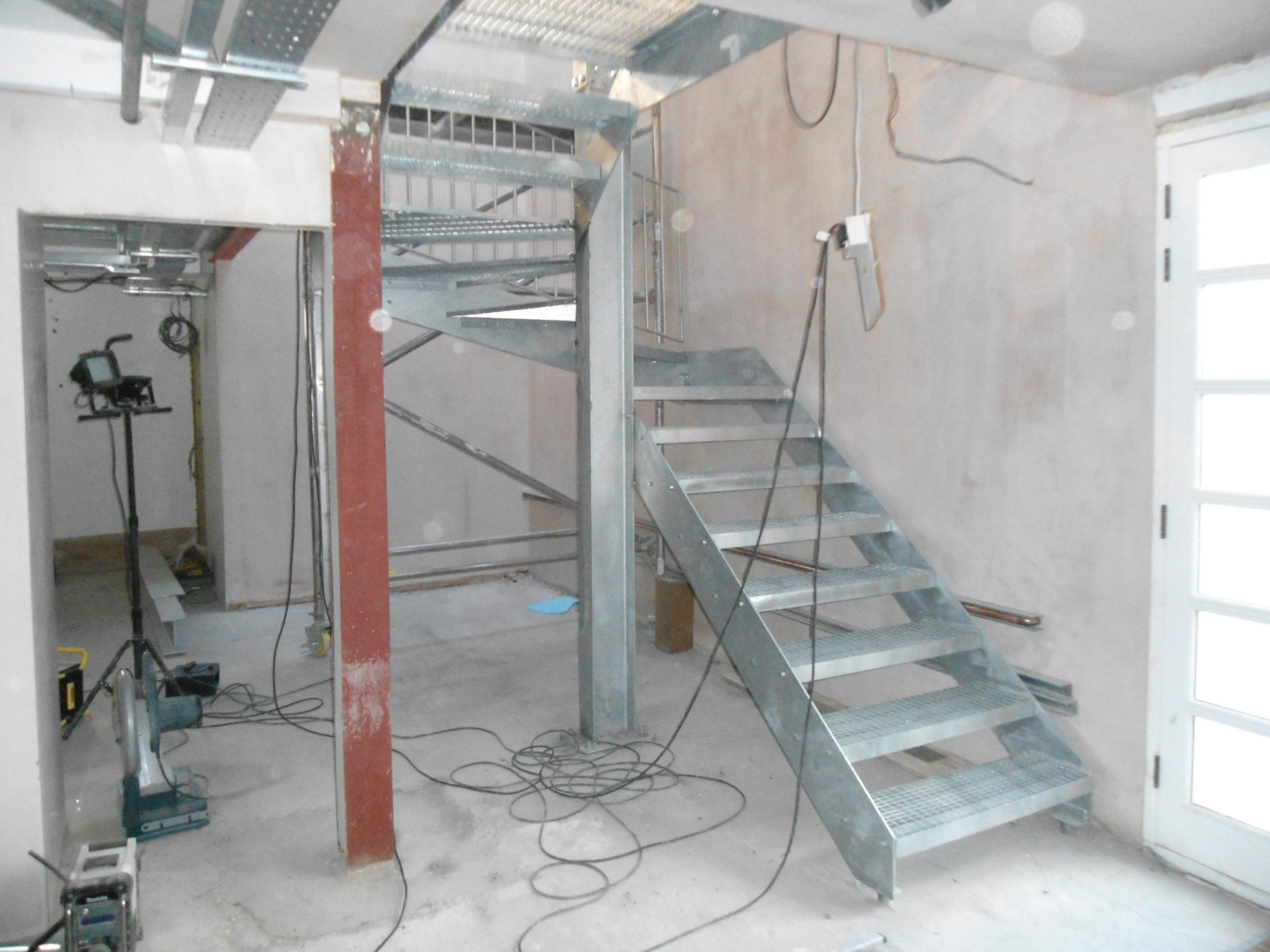 Steel Staircase Fabrication – Ladbroke Grove