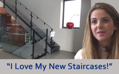 """I Love My Staircases – I Would Do It All Over Again!"" – Beautiful Bespoke Staircases Designed, Fabricated and Installed in Golders Green"