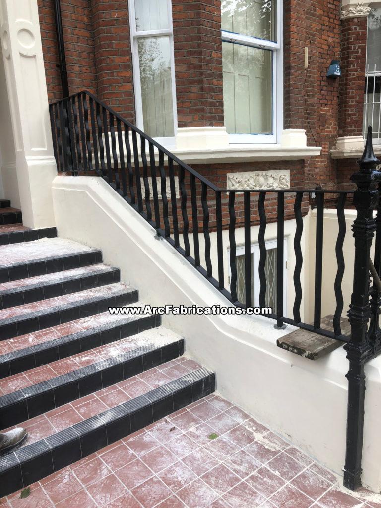 Steel railings Maida Vale