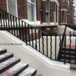 Steel Staircase Railings & Handrails in Maida Vale, West London