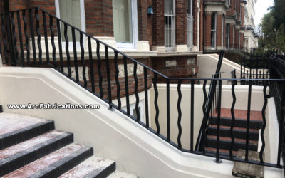 Steel Staircase Railings & Handrails in Maida Vale, West London