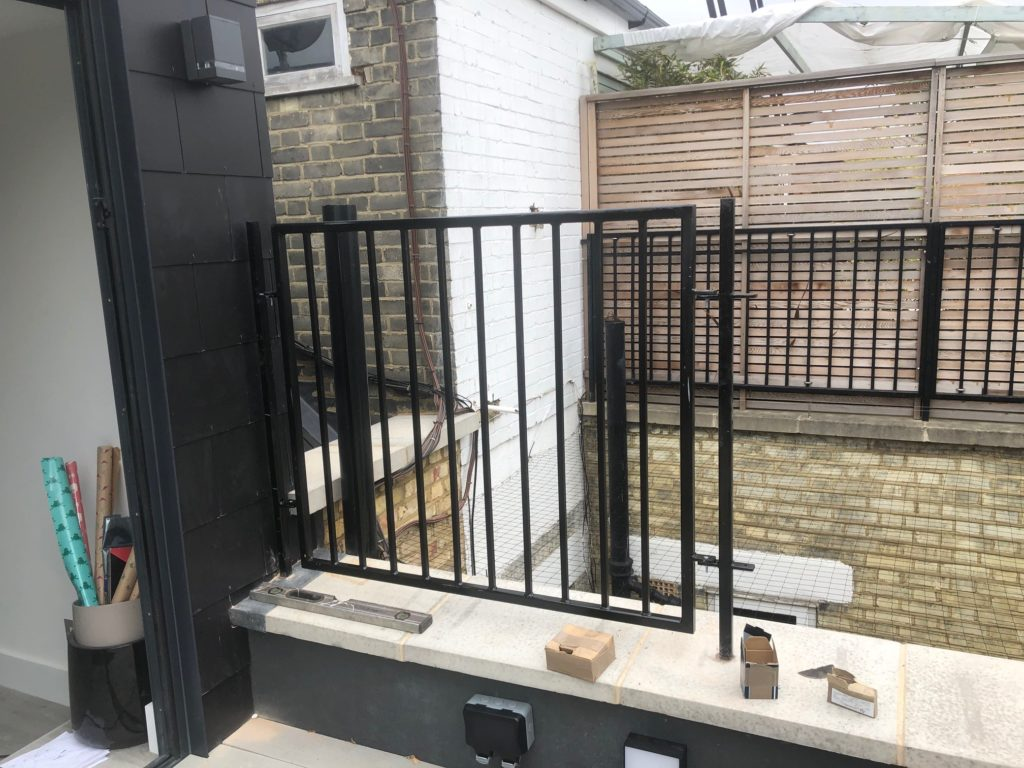 South Kensington Roof Terrace Railings