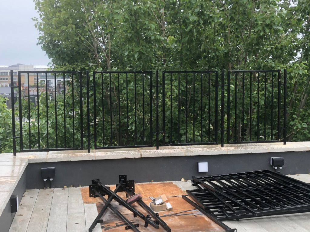 Chelsea Roof Terrace Railings