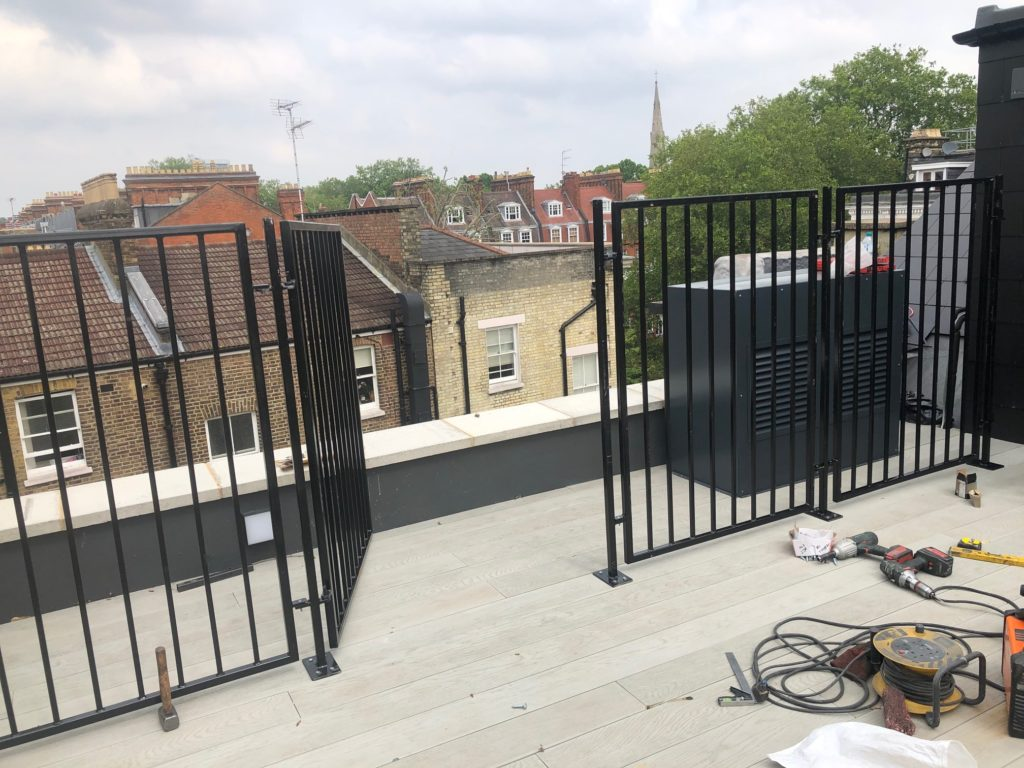 West London Roof Terrace Railings