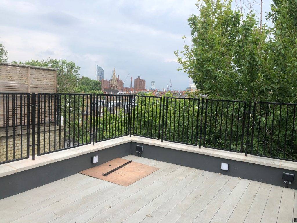Roof Terrace Railings SW10