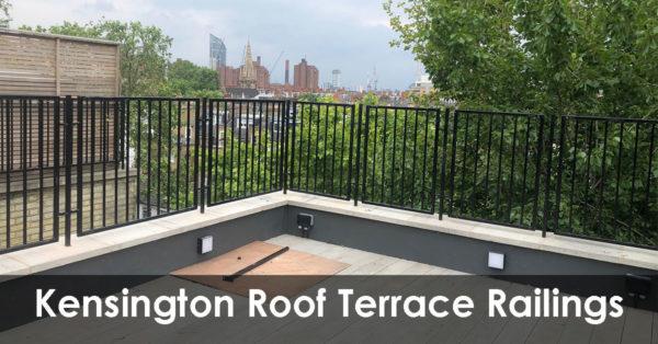 Roof Terrace Railings in Elm Park Gardens, South Kensington & Chelsea, SW10