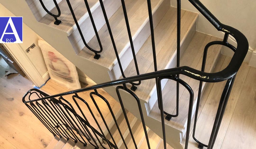 Bespoke Steel Balustrade Railings Installed in Harley Gardens, Kensington & Chelsea, London SW10