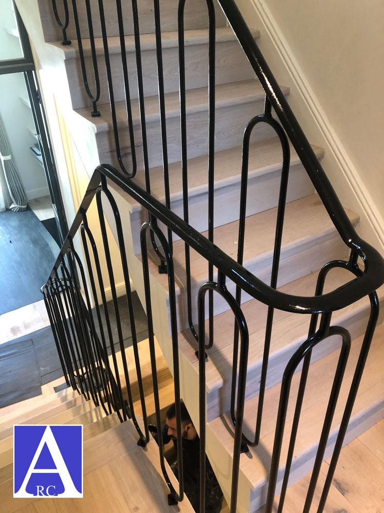 Chelsea-Metal-Fabrication-London-Staircase-Handrail