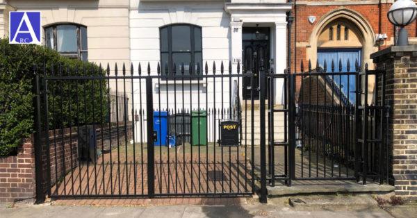 Driveway Gate & Pedestrian Gate Fabrication & Installation in Elephant & Castle, London SE1
