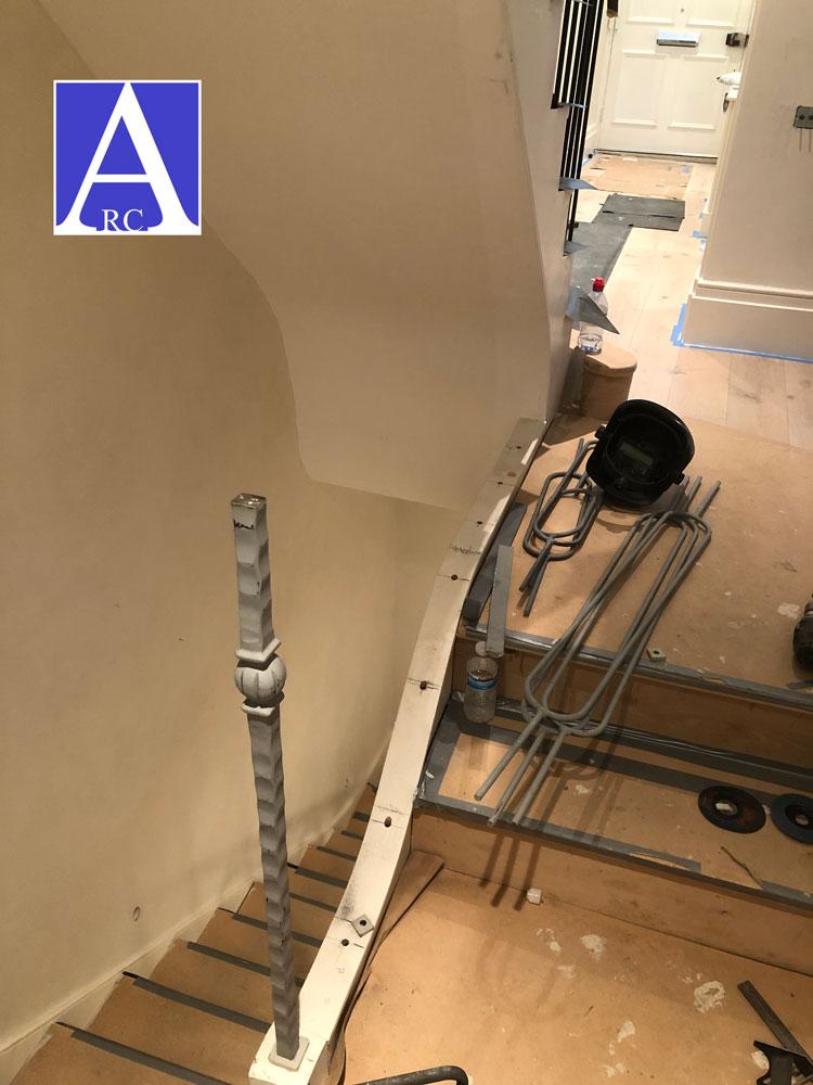 Steel-Staircase-Balustrade-Fabrication-London-0531