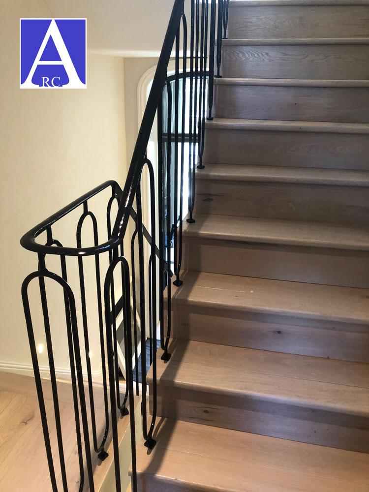 Steel-Staircase-Handrail-Fabrication-London-SW10
